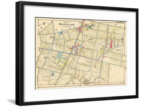1906, Montclair, New Jersey, United States--Framed Art Print
