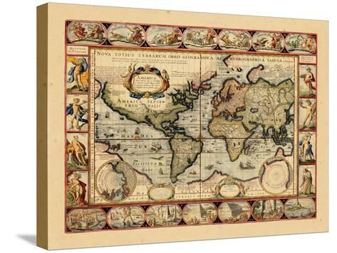 1631, World--Stretched Canvas Print