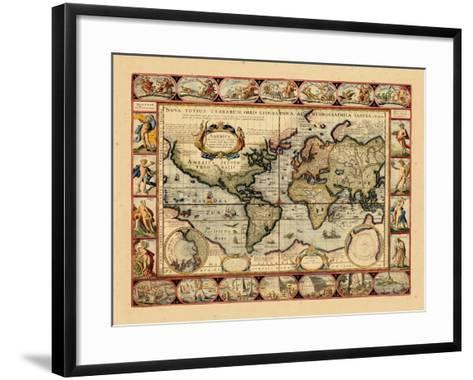 1631, World--Framed Art Print