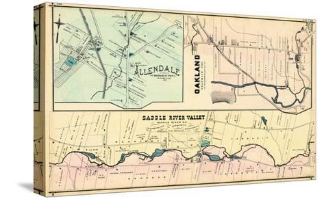 1876, Allendale, Oakland, Saddle River Valley, New Jersey, United States--Stretched Canvas Print