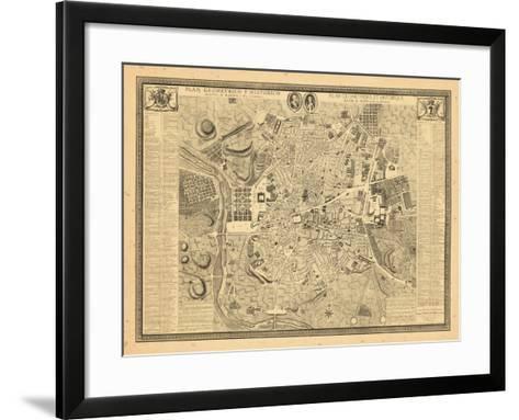 1761, Madrid, Spain--Framed Art Print