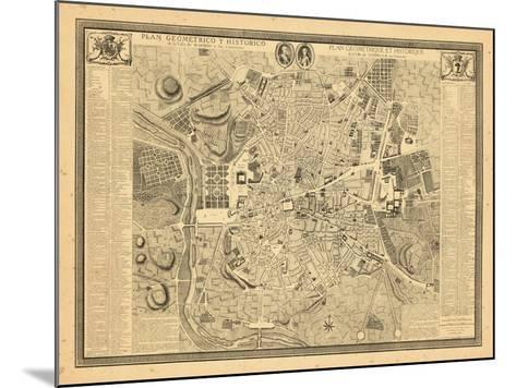 1761, Madrid, Spain--Mounted Giclee Print