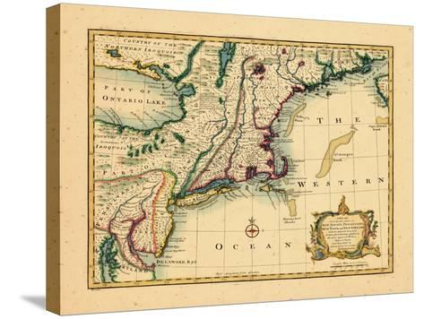 1747, New Jersey, United States--Stretched Canvas Print