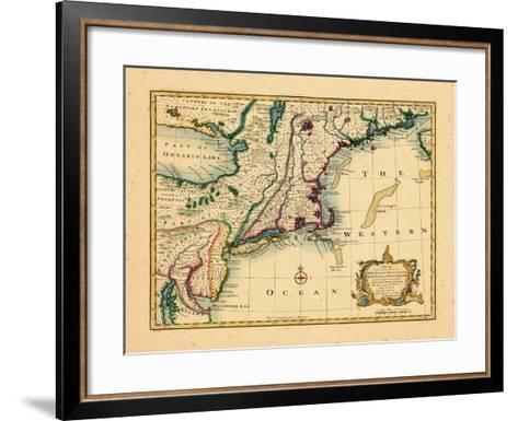 1747, New Jersey, United States--Framed Art Print