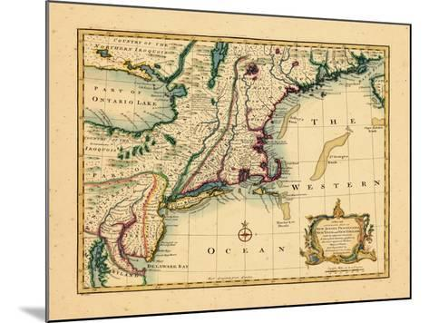 1747, New Jersey, United States--Mounted Giclee Print