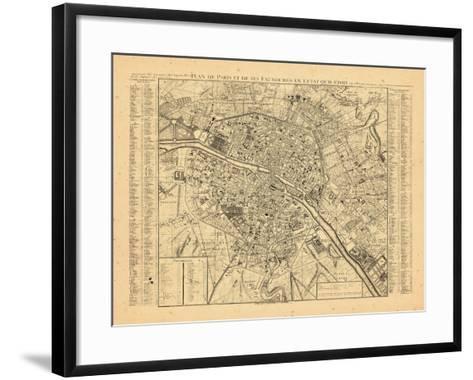 Paris, France--Framed Art Print