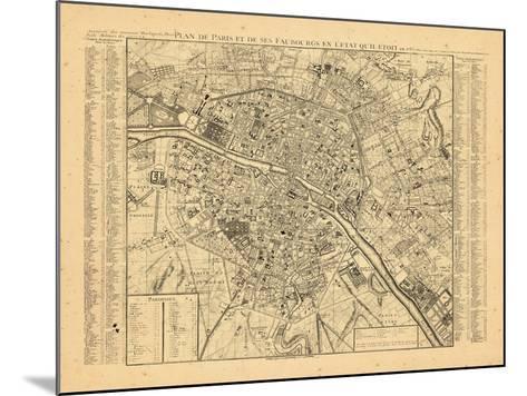 Paris, France--Mounted Giclee Print