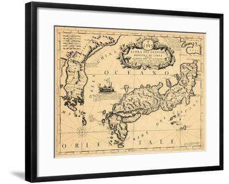 1692, Japan--Framed Art Print