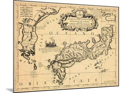 1692, Japan--Mounted Giclee Print