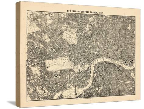 1892, Central London, United Kingdom--Stretched Canvas Print