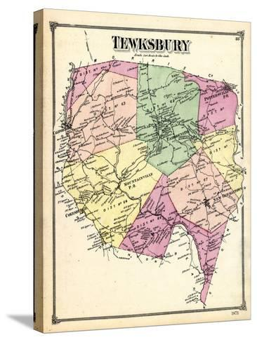 1873, Tewksbury, New Jersey, United States--Stretched Canvas Print