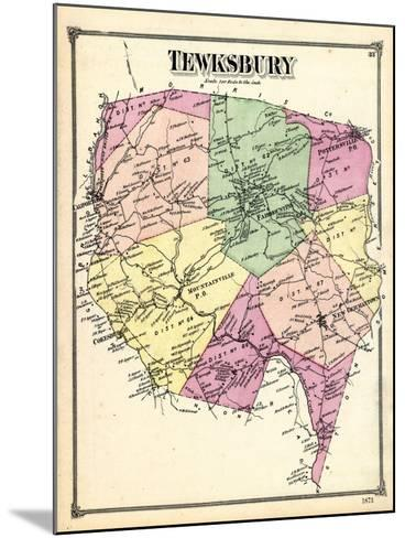 1873, Tewksbury, New Jersey, United States--Mounted Giclee Print