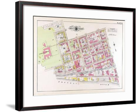 1915, Plate 2, Georgetown College, District of Columbia, United States--Framed Art Print