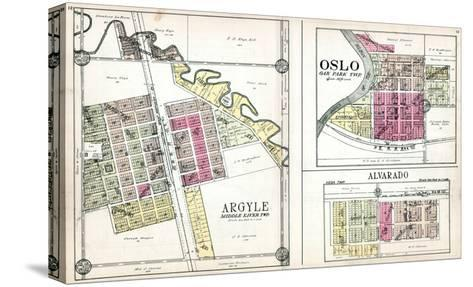 1928, Argyle, Oslo, Alvarado, Minnesota, United States--Stretched Canvas Print