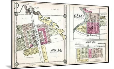 1928, Argyle, Oslo, Alvarado, Minnesota, United States--Mounted Giclee Print