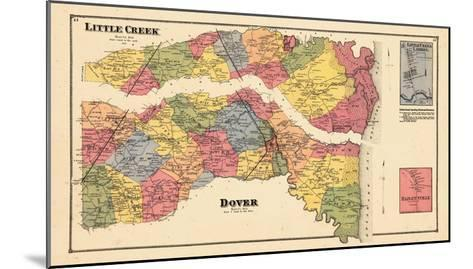 1868, Little Creek, Dover, Little Creek Landing, Delaware, United States--Mounted Giclee Print