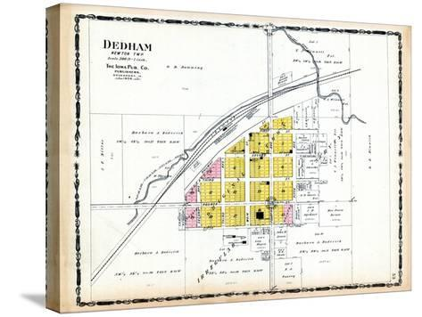 1906, Dedham, Iowa, United States--Stretched Canvas Print