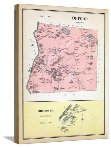 1892, Orford, Orford Town, New Hampshire, United States--Stretched Canvas Print