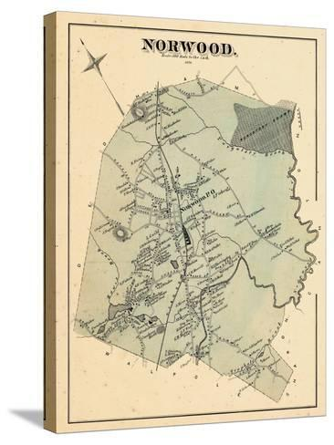 1876, Norwood, Massachusetts, United States--Stretched Canvas Print