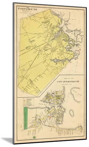 1892, Portsmouth, New Hampshire, United States--Mounted Giclee Print
