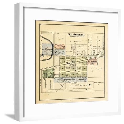 1893, St. Joseph, Illinois, United States--Framed Art Print