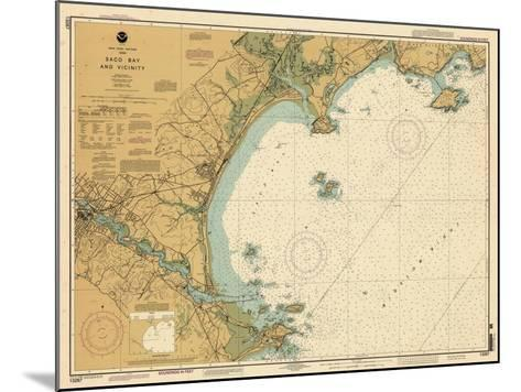 2004, Saco Bay, Maine, United States--Mounted Giclee Print
