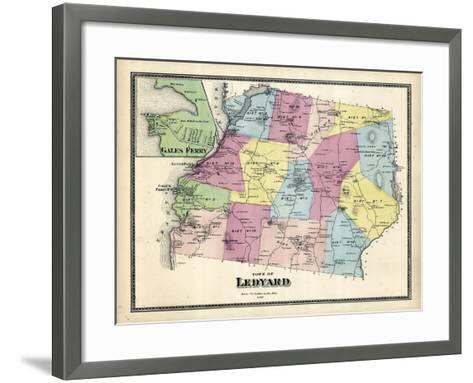 1868, Ledyard, Gales Ferry, Connecticut, United States--Framed Art Print
