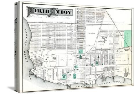 1876, Perth Amboy, New Jersey, United States--Stretched Canvas Print