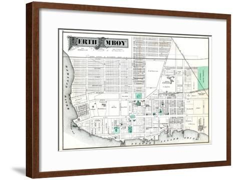 1876, Perth Amboy, New Jersey, United States--Framed Art Print