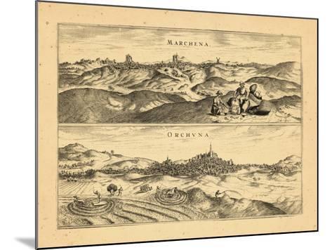 1657, Spain--Mounted Giclee Print