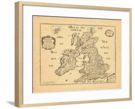 1669, United Kingdom--Framed Art Print