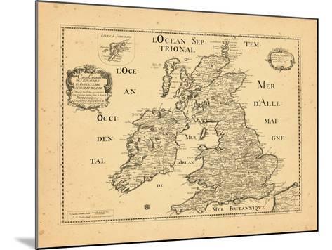 1669, United Kingdom--Mounted Giclee Print