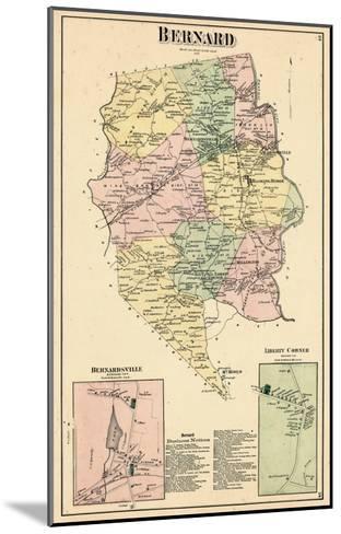1873, Bernard, Bernardsville, Liberty Corner, New Jersey, United States--Mounted Giclee Print