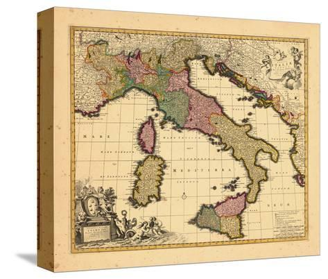 1698, Italy--Stretched Canvas Print