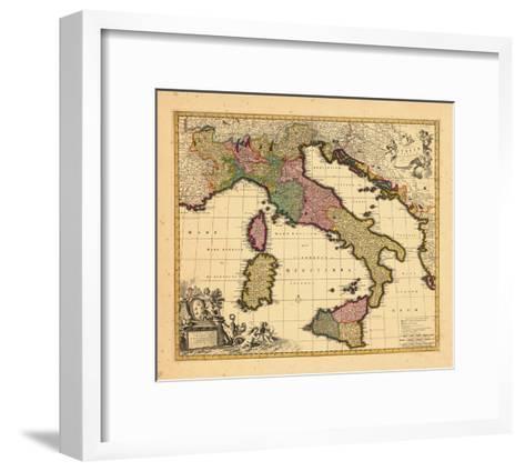 1698, Italy--Framed Art Print