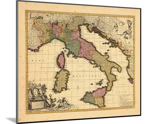1698, Italy--Mounted Giclee Print