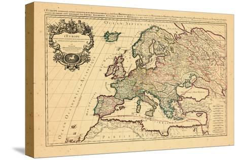 1706, Europe, Italy--Stretched Canvas Print