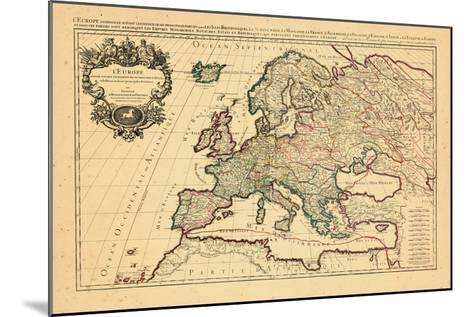 1706, Europe, Italy--Mounted Giclee Print