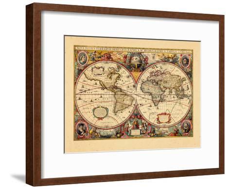 1633, World--Framed Art Print