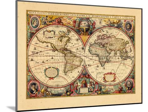 1633, World--Mounted Giclee Print