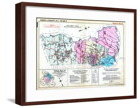 1933, Essex County, New Jersey, United States--Framed Art Print