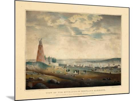 1830, Portland Harbour, Maine--Mounted Giclee Print