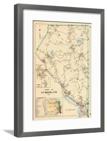 1895, Cumberland Town, Rhode Island, United States--Framed Art Print