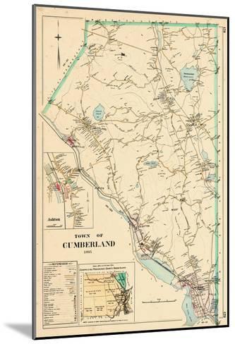 1895, Cumberland Town, Rhode Island, United States--Mounted Giclee Print