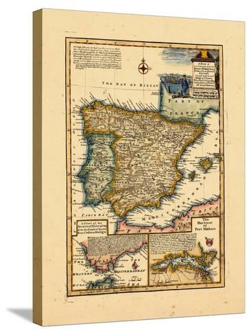 1748, Portugal, Spain--Stretched Canvas Print