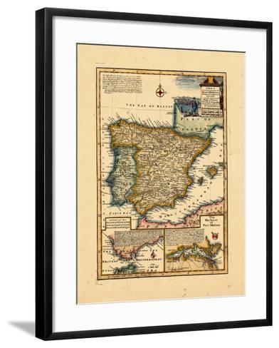1748, Portugal, Spain--Framed Art Print