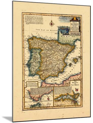 1748, Portugal, Spain--Mounted Giclee Print