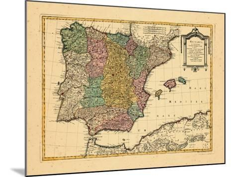 1770, Portugal, Spain--Mounted Giclee Print