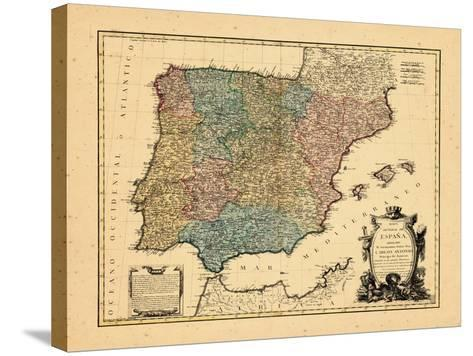 1770, Portugal, Spain--Stretched Canvas Print