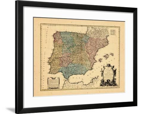 1770, Portugal, Spain--Framed Art Print